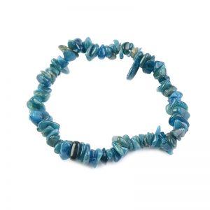 Bracelet en Pierre Baroque Apatite bleue Extra